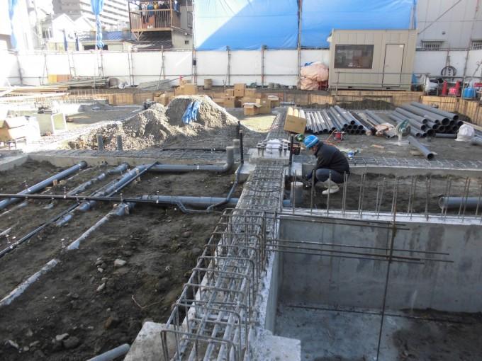 20170202-給排水埋設配管-2