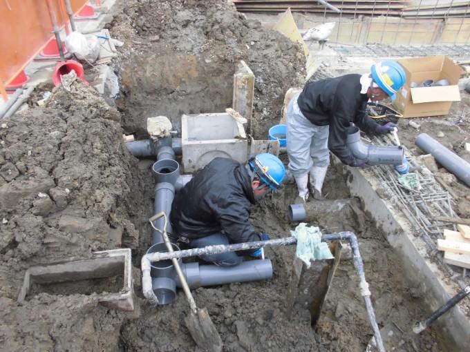20170202-給排水埋設配管-3