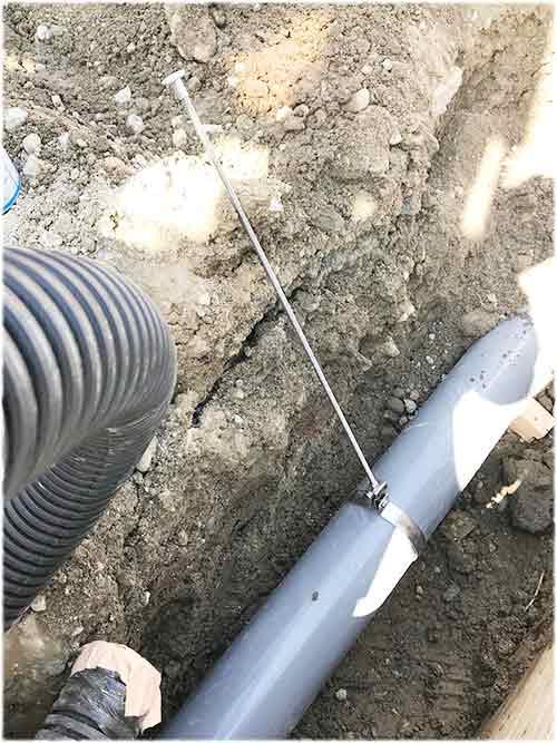 耐震金具の吊るハンガ