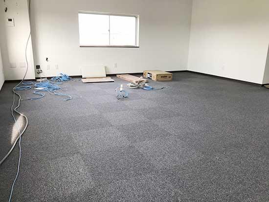 新事務所内装工事の写真